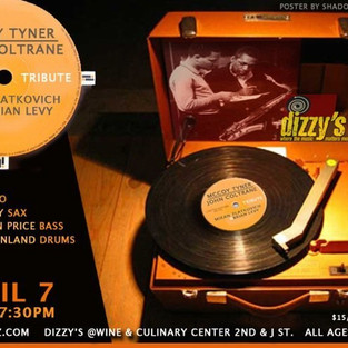 Mikan and Brian Levy's tribute to McCoy Tyner and John Coltrane