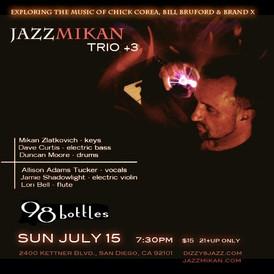 JazzMikan Trio + 3