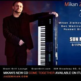 Jazz Mikan trio