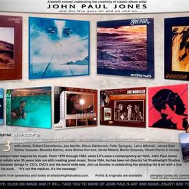 John Paul Jones benefit concert