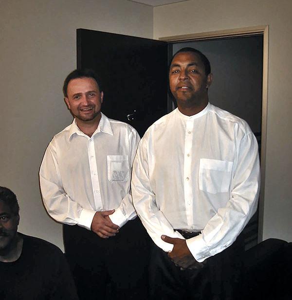 Mikan and Chuck Mcpherson