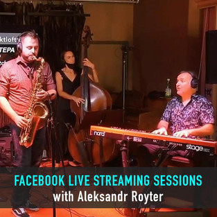 Facebook Live stream with Aleksandr Royt