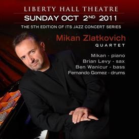 Jazz Mikan Quartet at Liberty Hall Theatre