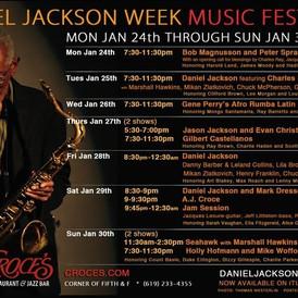 Daniel Jackson Week Music Festival