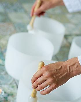 Crystal singing bowls.jpg Buddha and med