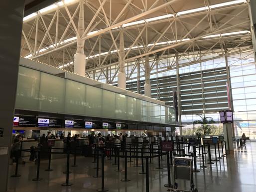 9月下旬、アメリカからANAで成田空港へ また隔離でご利用いただきました。
