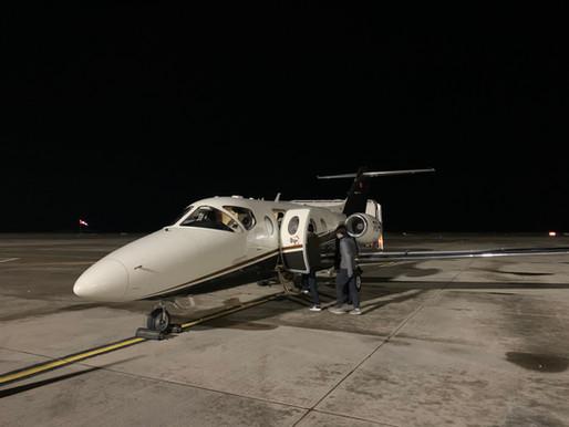 トルクメニスタンから羽田空港へご到着!からの当社施設でゆったり隔離