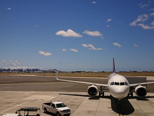 ハワイから帰国