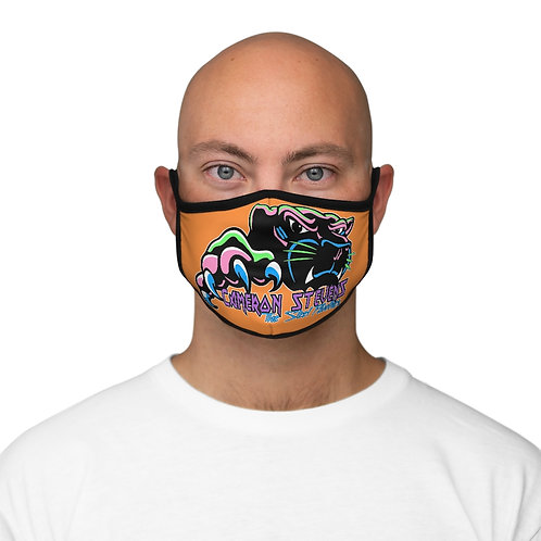 Cameron Stevens The Steel Panther Fitted Polyester Face Mask