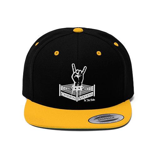 Cameron Stevens Rocker Ring Unisex Flat Bill Hat