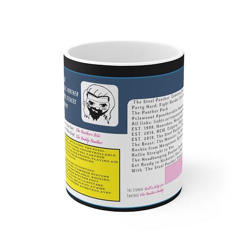 Cameron Stevens 420 Label Black Ceramic Mug 11oz
