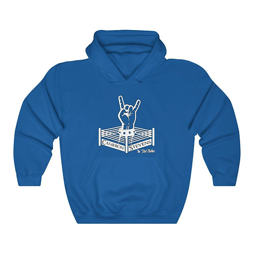 Cameron Stevens Rocker Ring-Blonde/Glasses Unisex Heavy Blend™ Hooded Sweatshirt