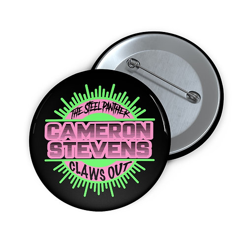 Cameron Stevens Claws Out Pin Buttons