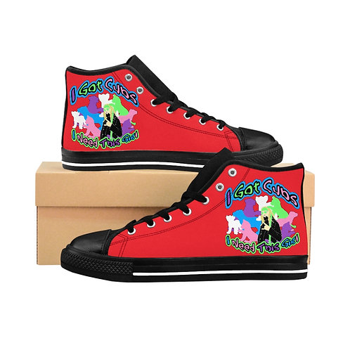 Cameron Stevens I Got Cubs (I Need This Gig) Men's High-top Sneakers