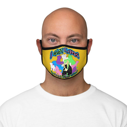 Cameron Stevens I Got Cubs (I Need This Gig) Fitted Polyester Face Mask
