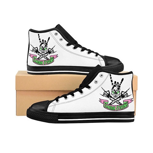 Cameron Stevens Skull Women's High-top Sneakers