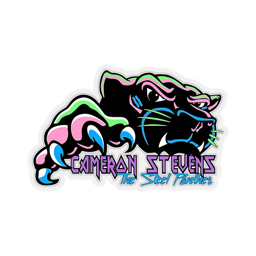 Cameron Stevens The Steel Panther Kiss-Cut Stickers
