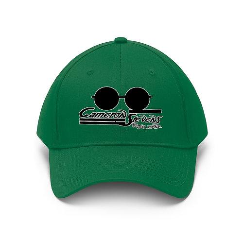 Cameron Stevens Glasses/Paint Unisex Twill Hat