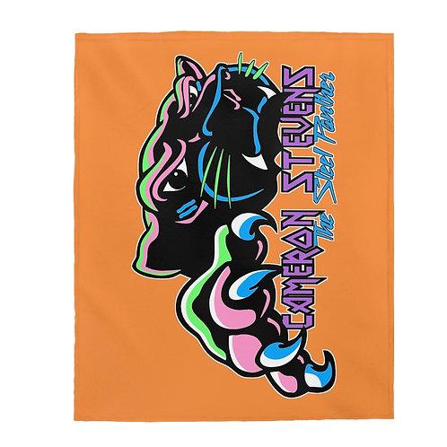 Cameron Stevens The Steel Panther Velveteen Plush Blanket
