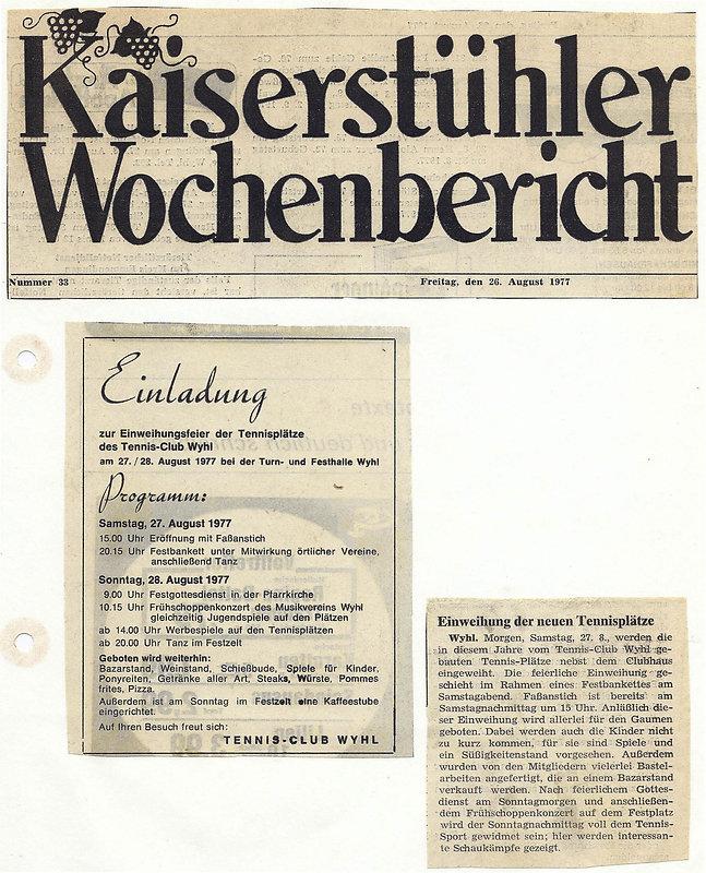 TC RW Wyhl Chronik
