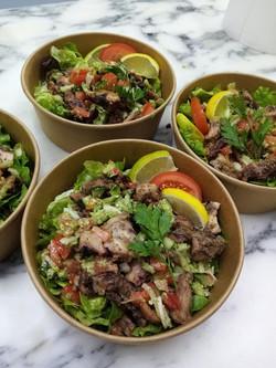 Healthy food Salade de poulpe