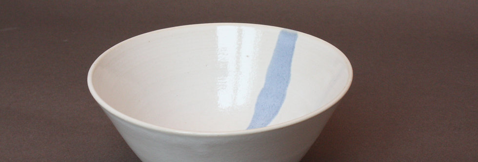 Petit bol ligne bleue