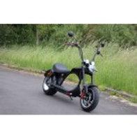 Elektro Scooter Coco Bike E-Chopper Mit Straßenzulassung Bis Zu 48 Km/H Schnell