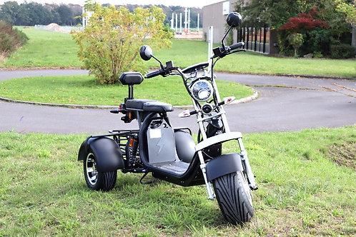 Coco Bike E-Scooter Mit Straßenzulassung Und Drei Räder Trike Ca.35km Reichweite