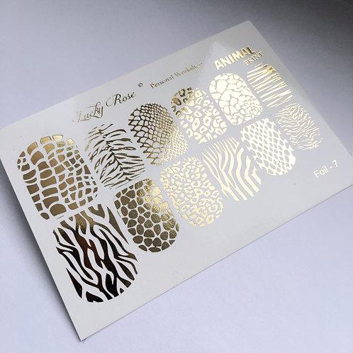 Series Foil Maxi золото №7