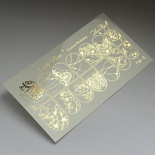 Series Foil золото №5