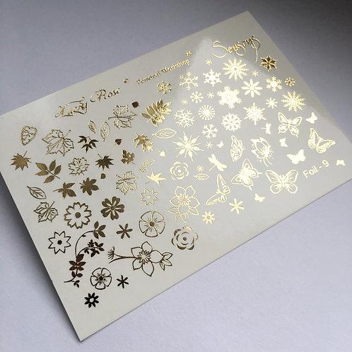 Series Foil Maxi золото №9