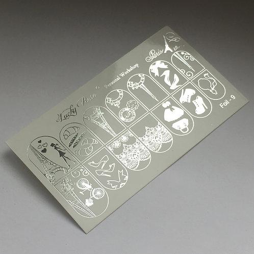 Series Foil серебро №9