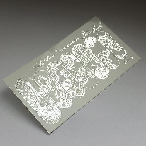 Series Foil серебро №3