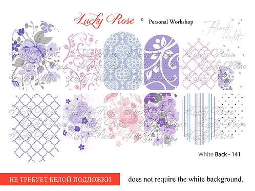 Series White Back №141