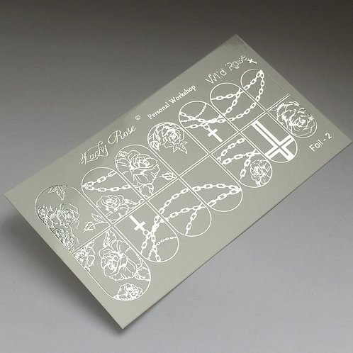 Series Foil серебро №2
