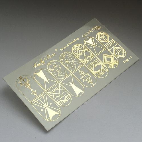 Series Foil золото №1