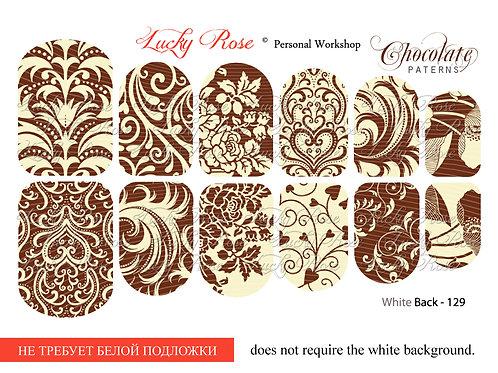 Series White Back №129