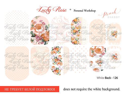 Series White Back №126