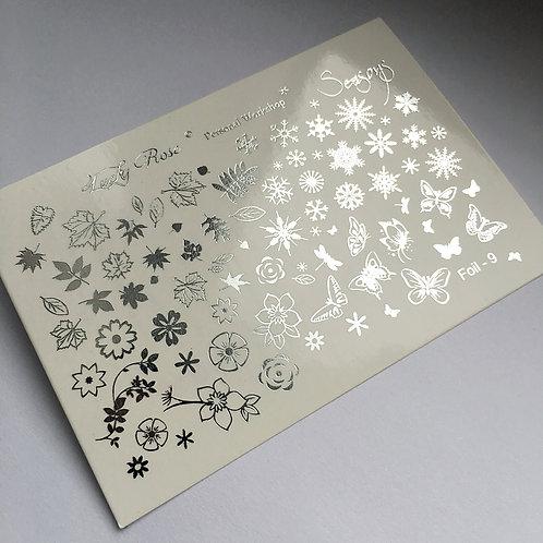 Series Foil Maxi серебро №8