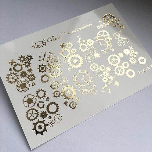 Series Foil Maxi золото №2