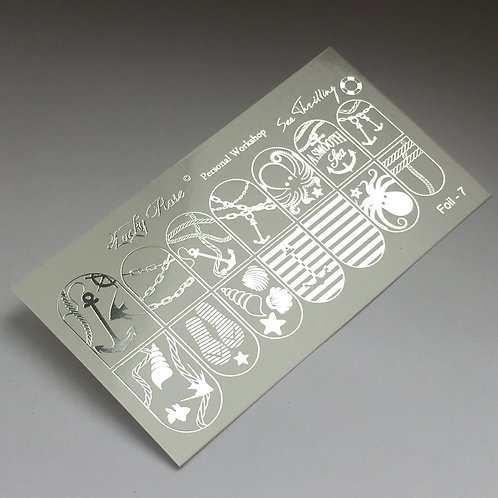Series Foil серебро №7