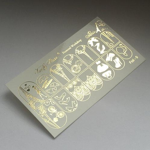 Series Foil золото №9
