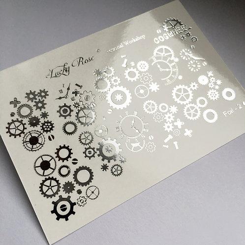 Series Foil Maxi серебро №2