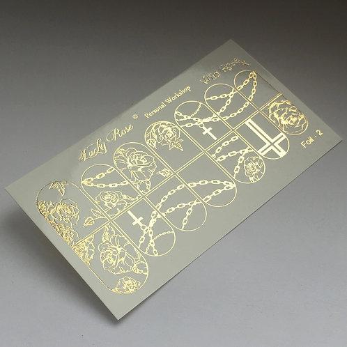 Series Foil золото №2