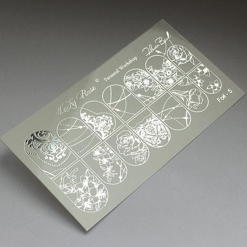 Series Foil серебро №5