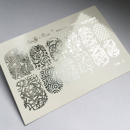 Series Foil Maxi серебро №3