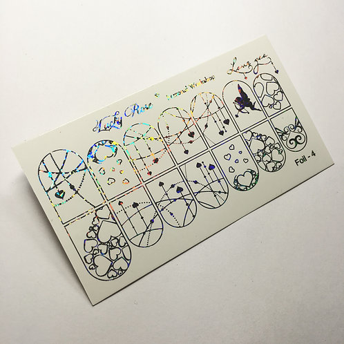 Series Foil голограмма №4