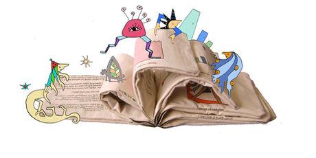 libros de tela de Tángara