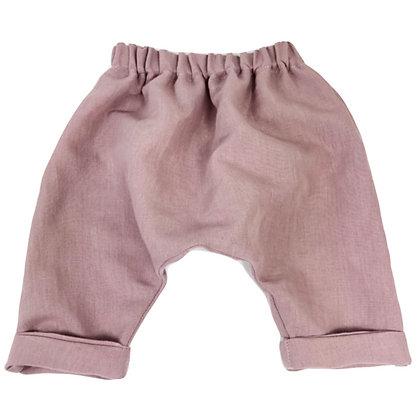 Mauve Harem Pants