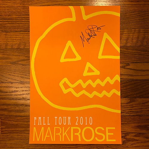 Poster: 11x17 - MR Fall 2010 (signed)